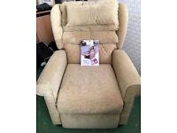 Willowbrook riser, recliner armchair