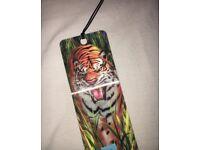 3D tiger bookmark