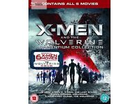 X-Men And The Wolverine Adamantium Collection Blu-ray 3D + Blu-ray