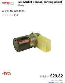 Park Assist Sensor Top Quality By METZGER German Top Product 7h 0919275 c
