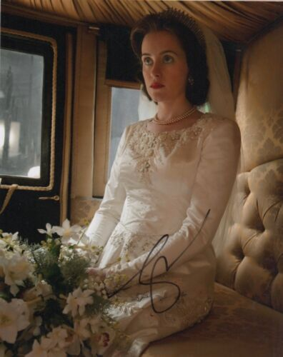 Claire Foy The Crown Autographed Signed 8x10 Photo COA #O5