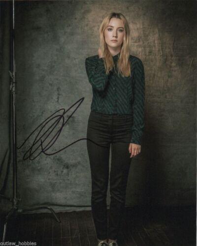 Saoirse Ronan Sexy Autographed Signed 8x10 Photo COA #J8
