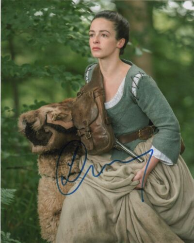 Laura Donnelly Outlander Autographed Signed 8x10 Photo COA #A12
