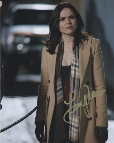 Lana Parrilla Once Upon A Time Autographed Signed 8x10 Photo COA #J2