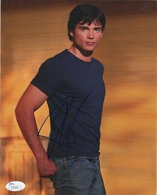 Tom Welling Smallville Autographed Signed 8x10 Photo JSA COA #10