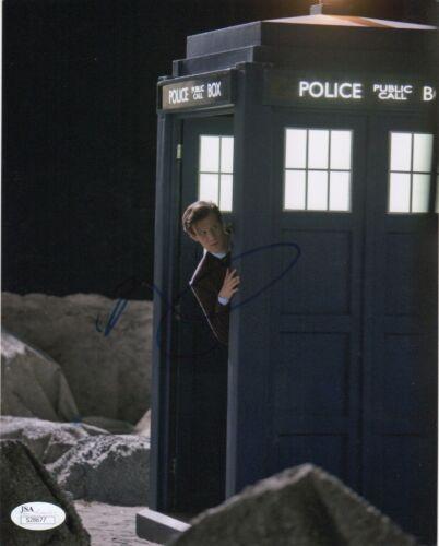 Matt Smith Doctor Who Autographed Signed 8x10 Photo JSA COA #4