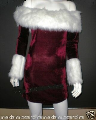 CHRISTMAS COSTUME MISS SANTA CLAUS OUTFIT Christmas Woman ELF LADIES Fancy Dress](Miss Santa Claus Outfit)