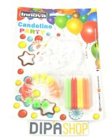 Set 16 Candele Candeline + Happy Birthday Party Festa Compleanno Colorate -  - ebay.it