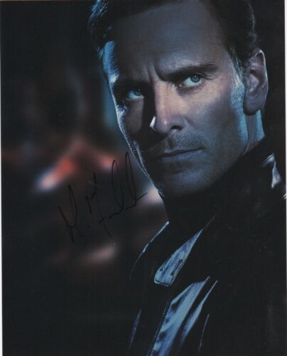 Michael Fassbender X-Men Autographed Signed 8x10 Photo COA #8