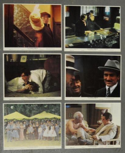 GODFATHER: PART II 1974 ORIGINAL 8X10 NM LOBBY CARD SET ROBERT De NIRO AL PACINO