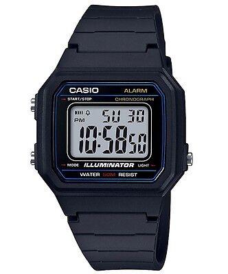 Casio Men's W217H-1A Classic Casual Digital Watch 50M
