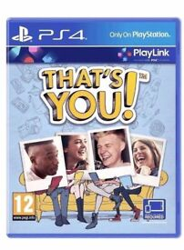 That's You - Playstation 4 PS4 Full Game Download Code - Fun PS4 Family Party Childrens Kids Game