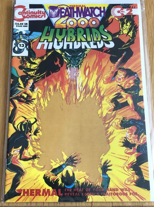 Hybrids Deathwatch 2000 #2 June 1993, Continuity Comics & Bagged