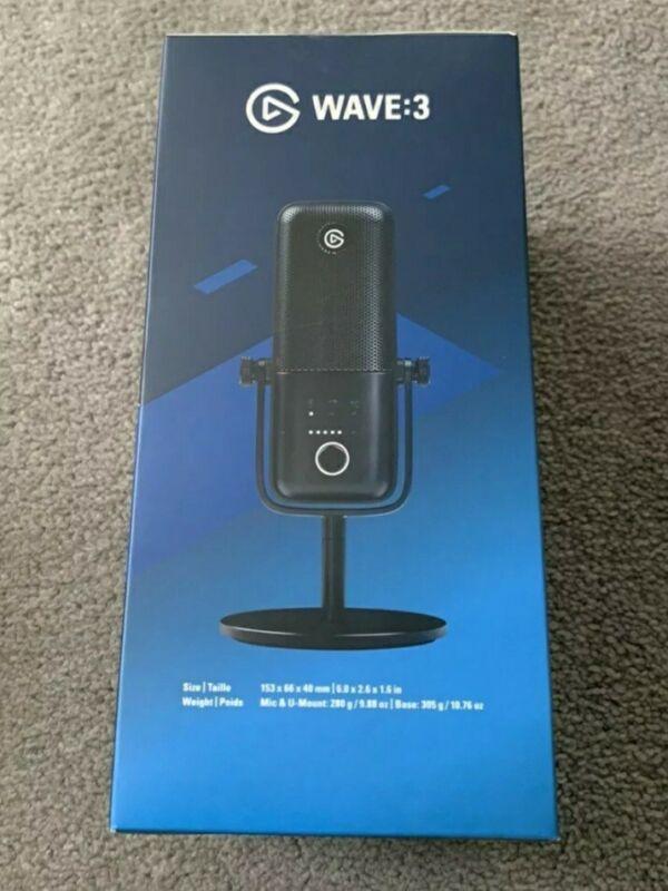 🔥Elgato Wave 3 -New Microphone