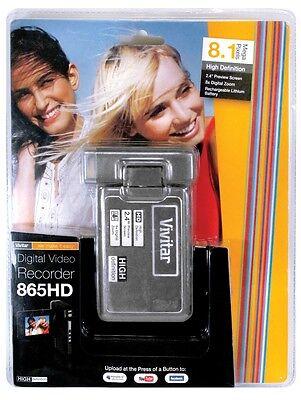 Vivitar DVR 865 HD Digital Recorder, 8.1 Megapixels, Vlogging Cam Vivitar Digital Cam