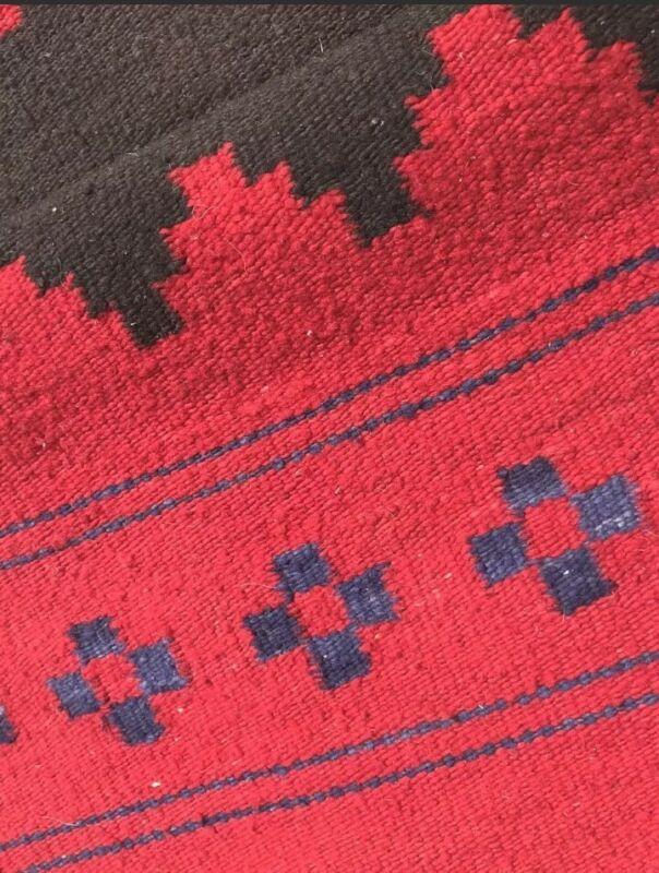Navajo Rug Dress Biil Antique Native American Indian Transitional Weaving