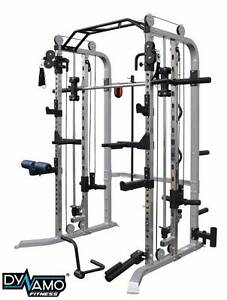 Functional trainer smith machine squat rack cable crossover NEW Malaga Swan Area Preview