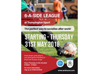 Trumpington 6-A-Side Football League