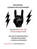 Rock Singer Wanted for Band