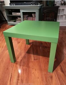 Green side table