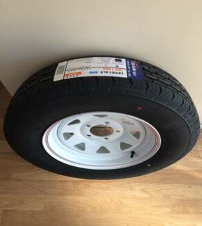 BRAND NEW 185R14C TYRE & RIM FITTED Archerfield Brisbane South West Preview