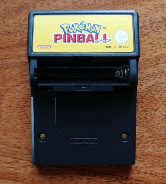 GBC - Nintendo Gameboy Color Spiel POKEMON PINBALL INCL. RUMBLE FUNKTION