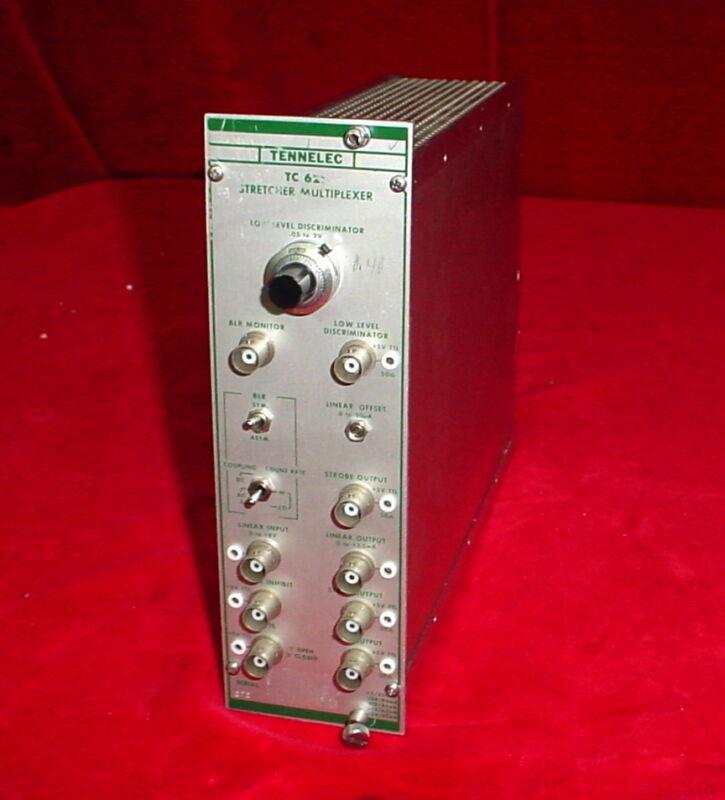 Tennelec TC 621 Stretcher Multiplexer NIM BIN Plug-In Module TC621