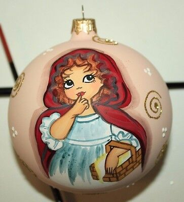 CHRISTMAS TOY UKRAINE GIRL WITH BASKET CHRISTMAS-TREE DECORATIONS HANDMADE for sale  Shipping to Canada