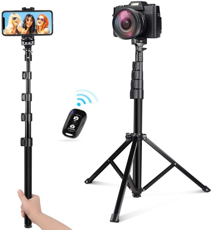 54 selfie stick tripod detachable and extendable