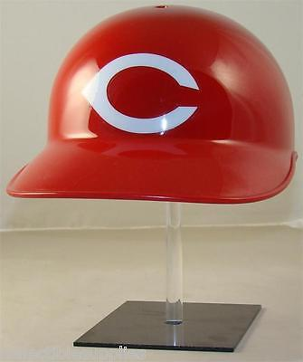 New CINCINNATI REDS THROWBACK MLB Official Base Coaches or Catchers Helmet - NEC