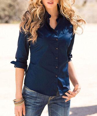 Fashion Women's Ladies Long Sleeve Casual Slim Fit T-Shirt Tops Autumn Blouse L (Fashion Ladies Long Sleeve)