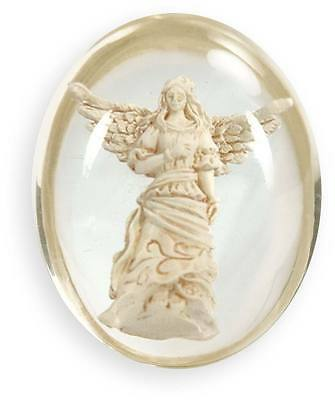 Guardian Angel Pocket Stone Token By Angel Star Worry Stone Protection Gift (Guardian Stone)