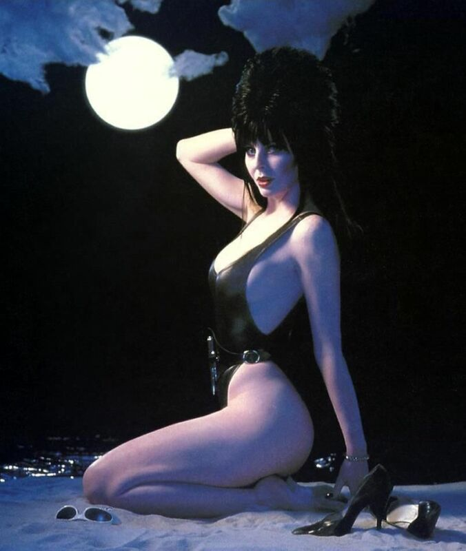 Elvira Special Moon  8x10 Photo Print