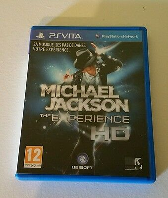 Michael Jackson The Experience HD PSV UK PAL Sony PlayStation Vita PS Vita