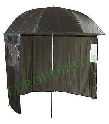 ombrellone 1.90m con tenda asportabile ombrello da pesca carpfishing surfcasting