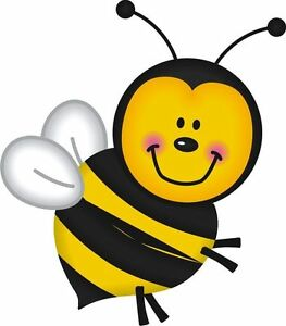Bee Bumble Bee Sticker Decal Graphic Vinyl Label V2