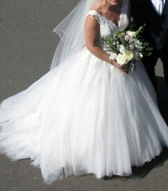 Wedding Dress Rosa Clara Size 10-12