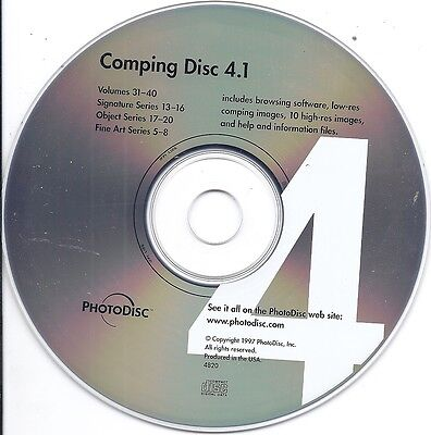Dish machine PhotoDisc Comping Disc 4.1