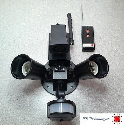 Motion Security Light with Audio Alarm and Wireless Remote Control !!!!!