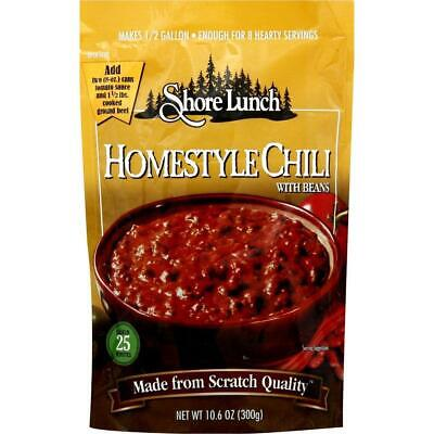 Shore Lunch Homestyle Chili with Beans Soup Mix, 10.6 Ounce, Case of -