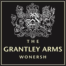 THE GRANTLEY ARMS - BAR/WAITING STAFF - GREAT RATES PLUS TIPS
