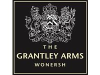 CHEF DE PARTIE - THE GRANTLEY ARMS, NR GUILDFORD - LIVE-IN up to £9/hr plus tips