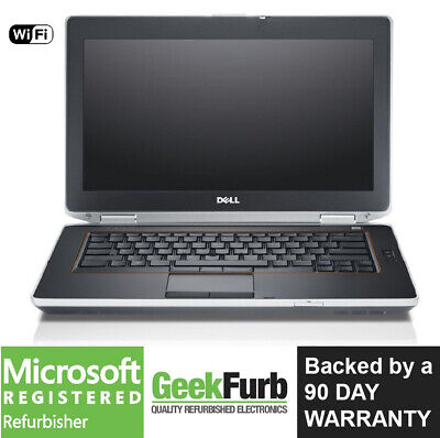 Dell Latitude E6420 Intel i7-2760QM 2.40Ghz 8GB RAM 128GB SSD Win 10 Pro Webcam