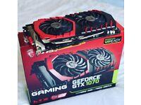 MSI GTX 1070 GAMING 8G NVIDIA GeForce Graphics Card