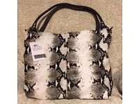Owen Barry Designer Tote Shopper Bag *New with tags*