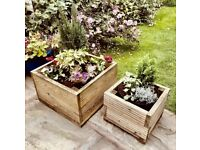 Small planter boxes (price depends on size)