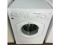 a046 white hotpoint 6kg 1200spin washing machine comes with warranty can be delivered or collected
