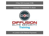 4 Day SIA Training Course (Security Guard Training)