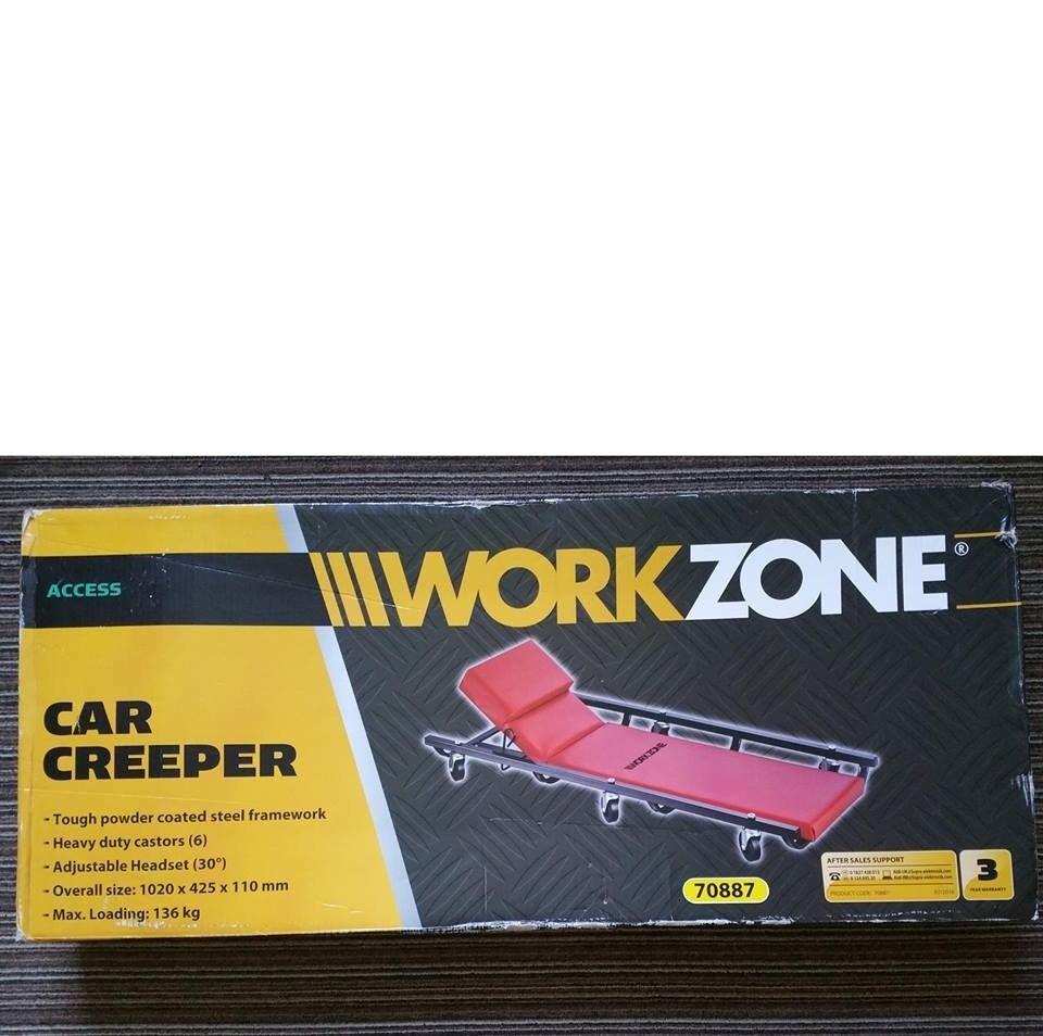 New Workzone Car Creeper Slide Trolley for under Motor car Repairs | in  Bradford, West Yorkshire | Gumtree