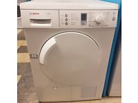 450 white bosch 7kg condenser dryer comes with warranty can be delivered or collected